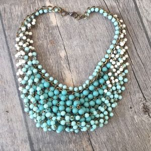 Jewelry - Vintage choker turquoise colors